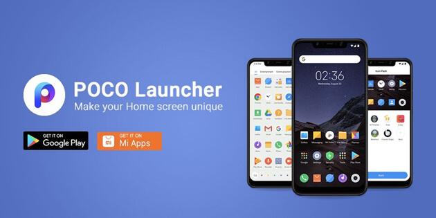 POCO Launcher доступен в Google Play для Xiaomi и других устройств